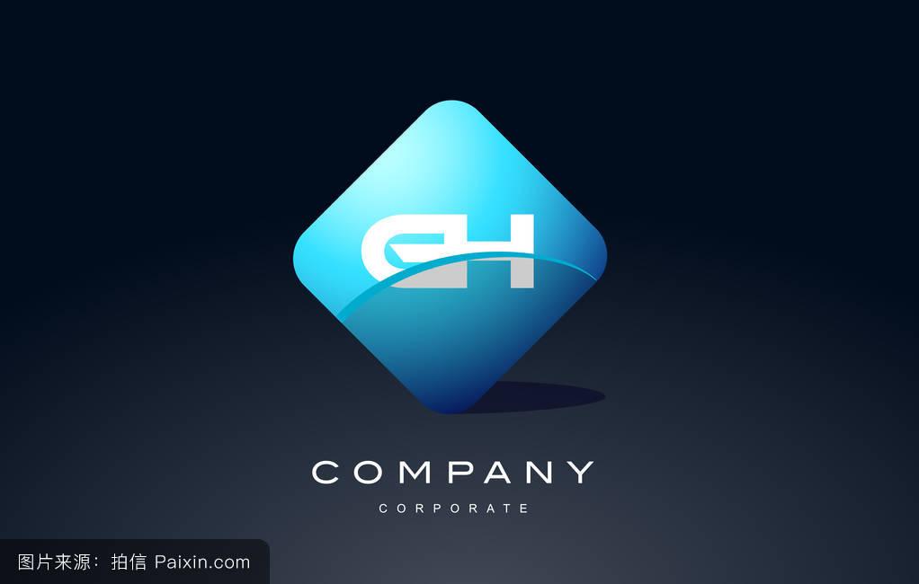 色的囹�a�gh:`/_蓝色,标志,现代的,符号,eps,字母表,矢量,商业,标识,公司,形状,签名