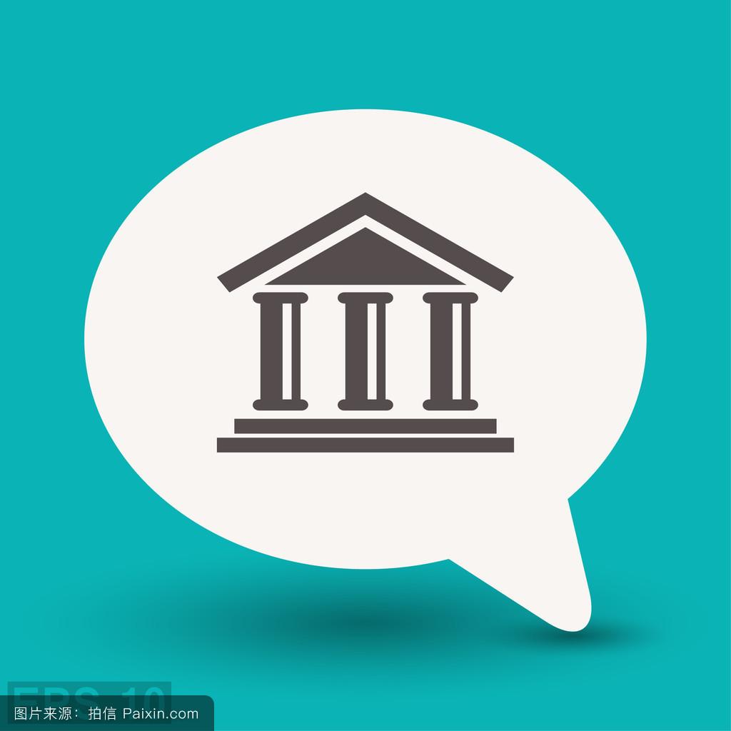学�y.�9l>[�~K�>K�_贷款,办公室,商业的,建筑学,金融的,概念,矢量,商业,签名,外部,入口