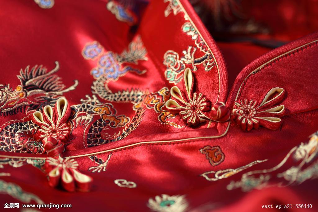 中式衣领,衣服,传统文化,中国文化,户内,白昼,刺绣,古典式,丝绸,时尚图片