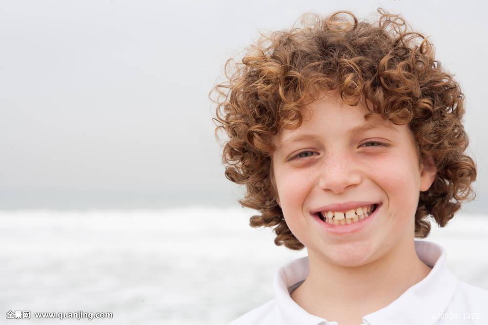 短卷发发型小孩分享展示