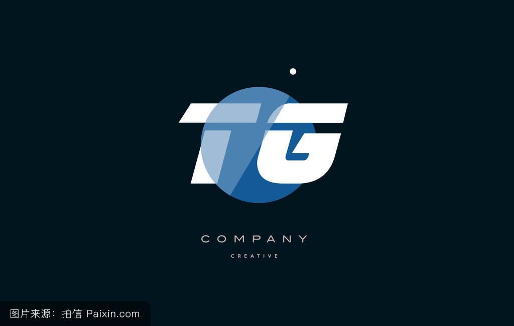 ��.�T_tg t g蓝白圆大字体�%