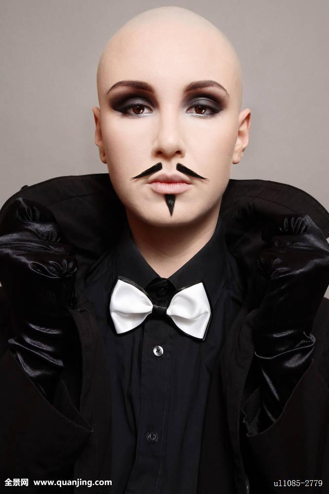 最酷的女生光头发型分享展示图片