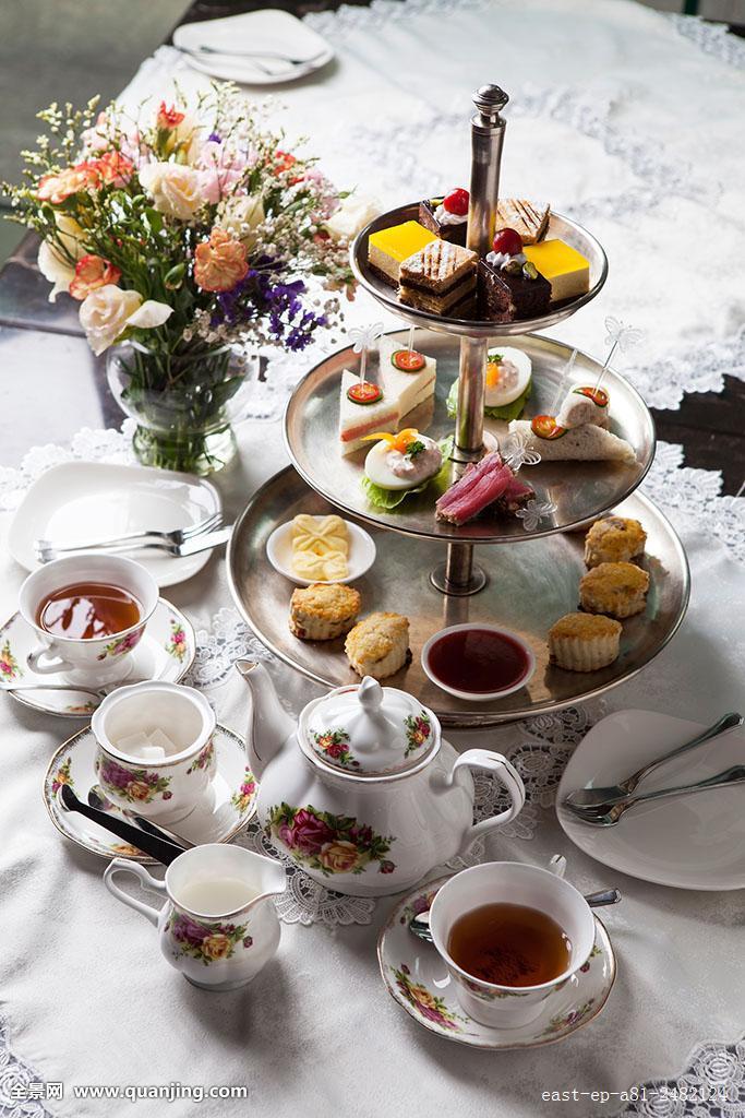 下午茶,糕点图片