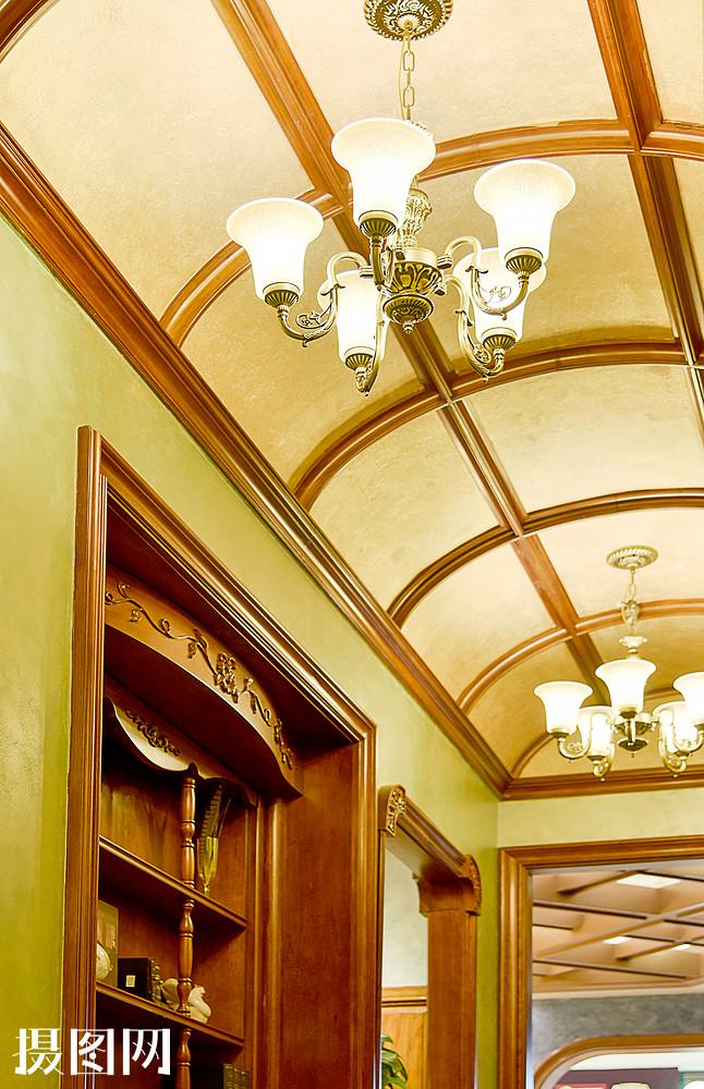 现代简约简欧式家装家居家具厨房客厅柜子吊顶吊灯图片