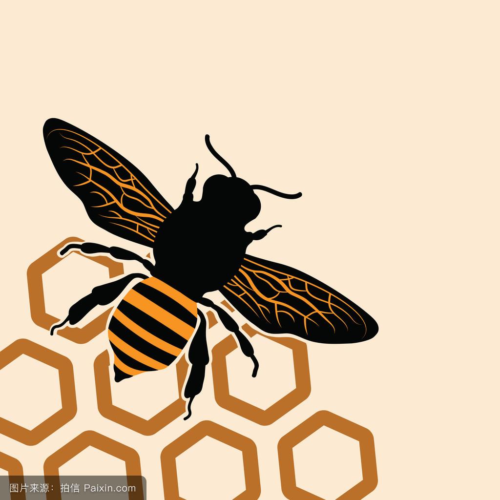 蜜蜂的标志 - 动物/野生生物_表情大全图片