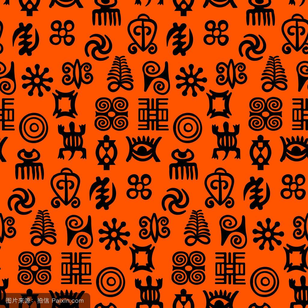 无缝管,按,单色,古代的,谚语,艺术,异教徒,语言,圆圈,纹身,背景,偶像图片