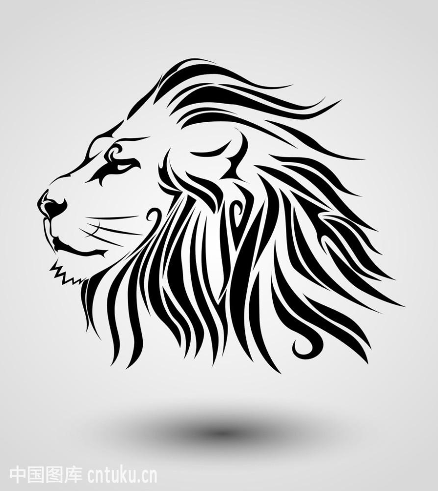 动物,暴力,羊毛,猫科,动物纹身,v动物,标志,矢量图,图片,狮子,野生黑色南阳画册设计图片