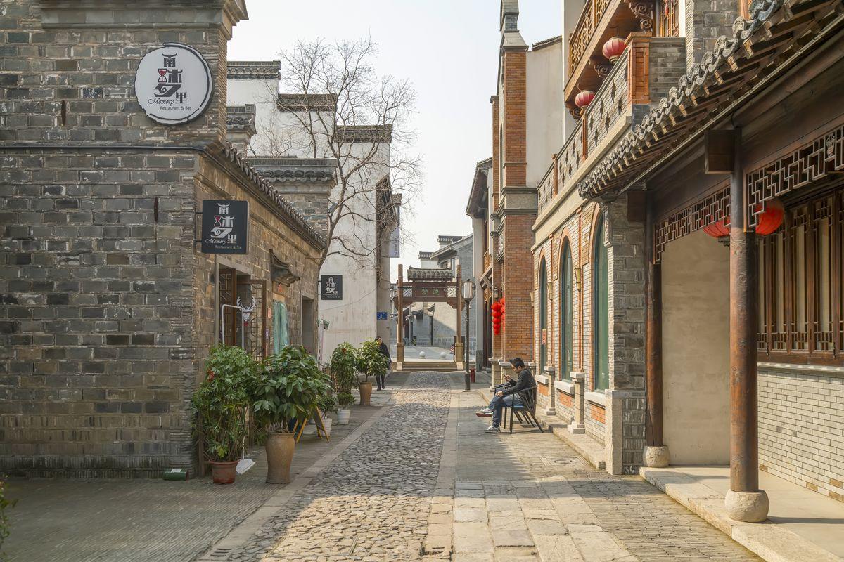 老南京民居,南京老房子,老南京建筑,古民居建筑群,中式建筑,传统建筑图片