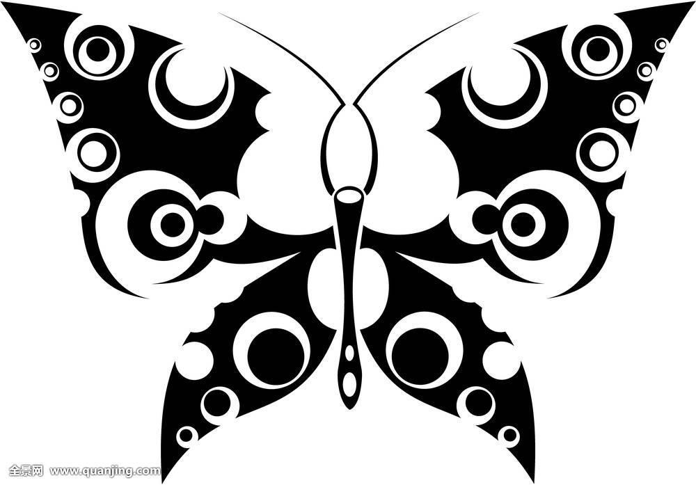 蝴蝶,纹身图片