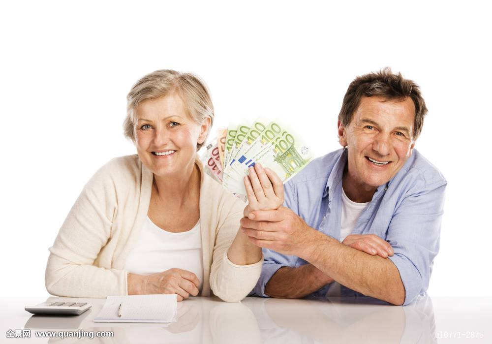 夫妻愺`/_老年,夫妻,钱