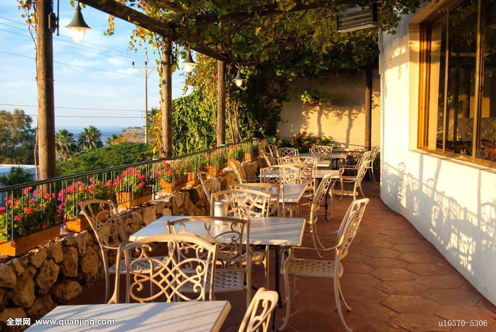 地中海,欧式风格,咖啡,小酒馆图片