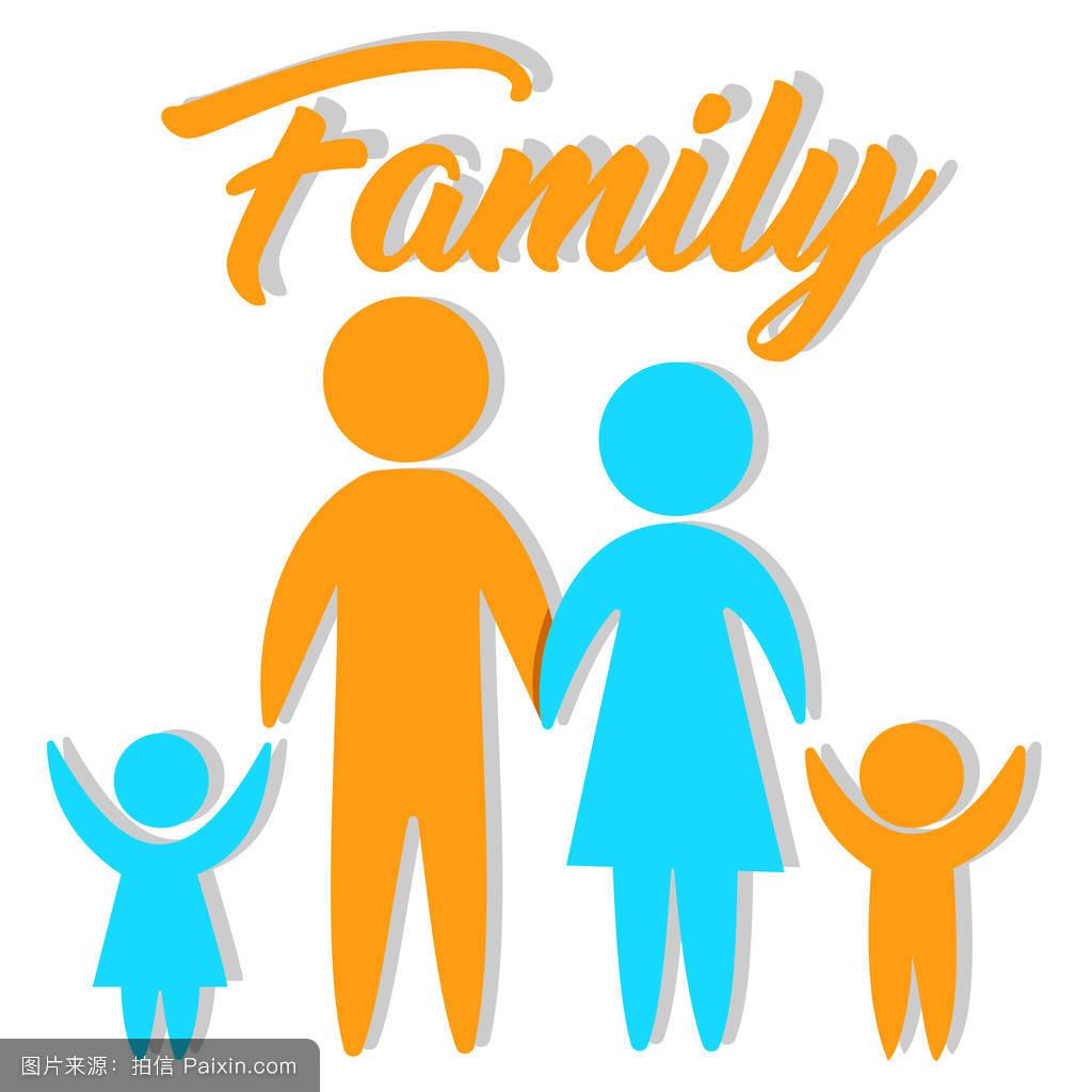 男性的,爱,父母,平的,概念,家庭,沙特,图解的,人口,图标,人类,女性的图片