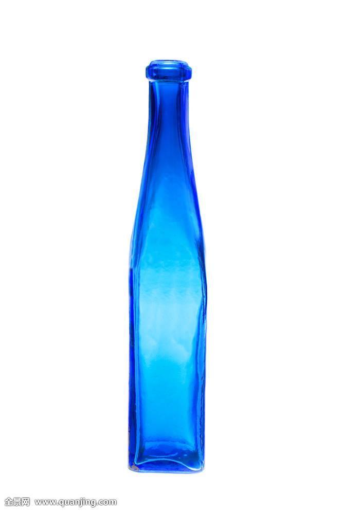 艺术,背景,酒精饮料,留白,蓝色,瓶子,庆贺,清洁,寒冷,彩色,创意,装饰图片