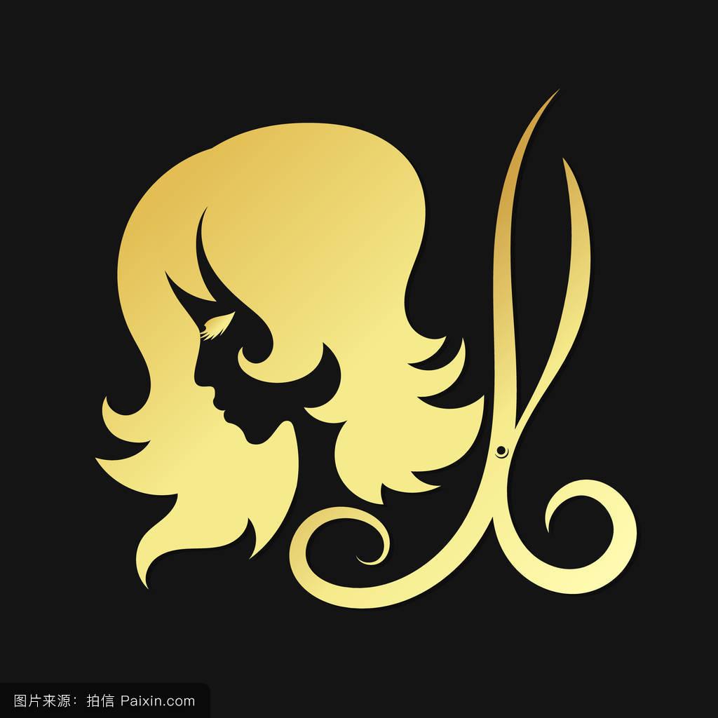 美发logo图片素材分享展示图片