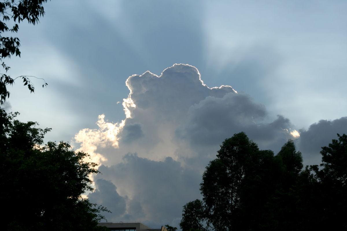 云,云朵,云霞,云彩,光,彩光图片