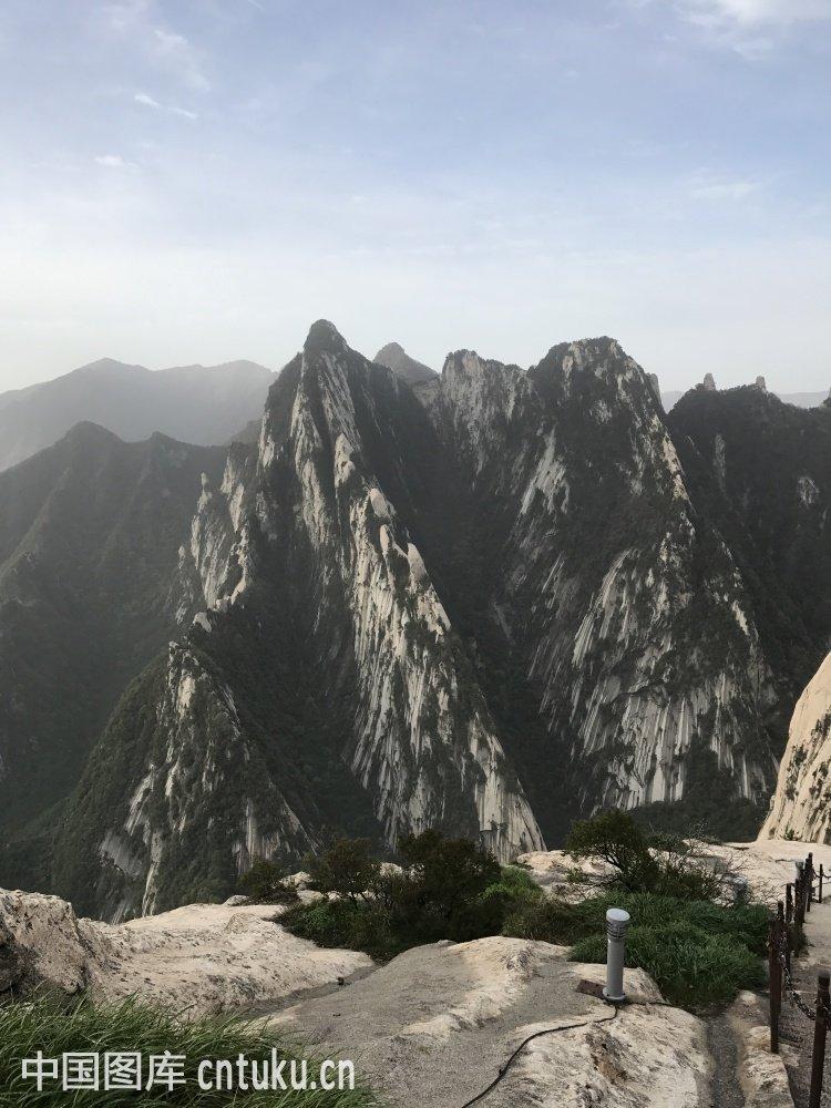 西安华山景点图图片