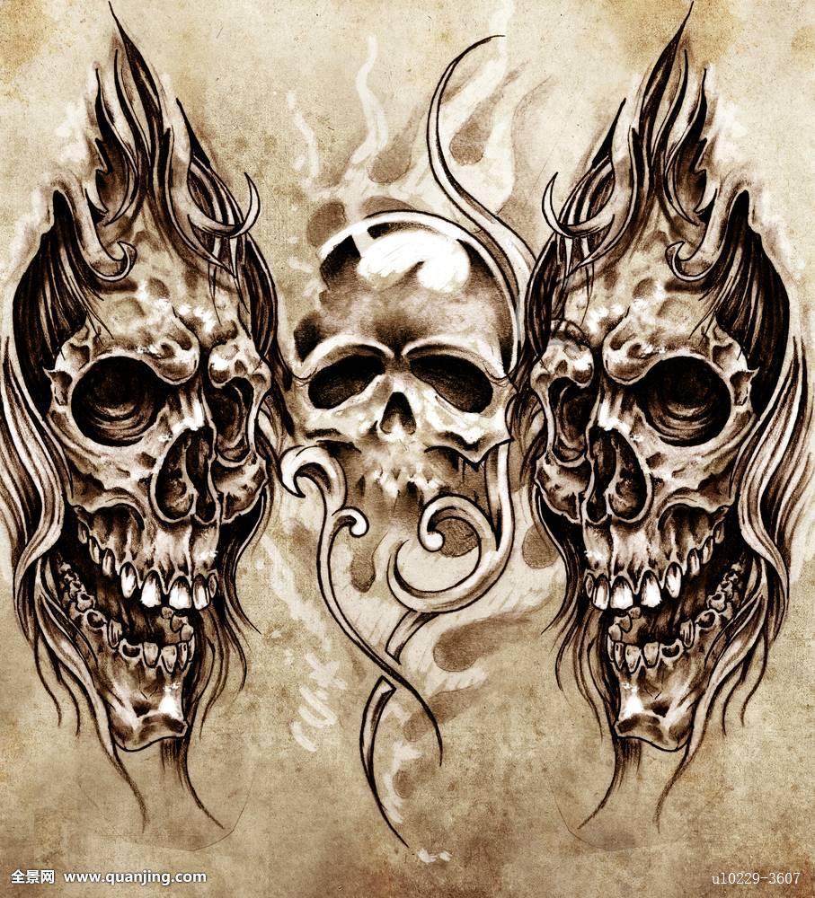 麻将牌纹身贴纸分享展示图片