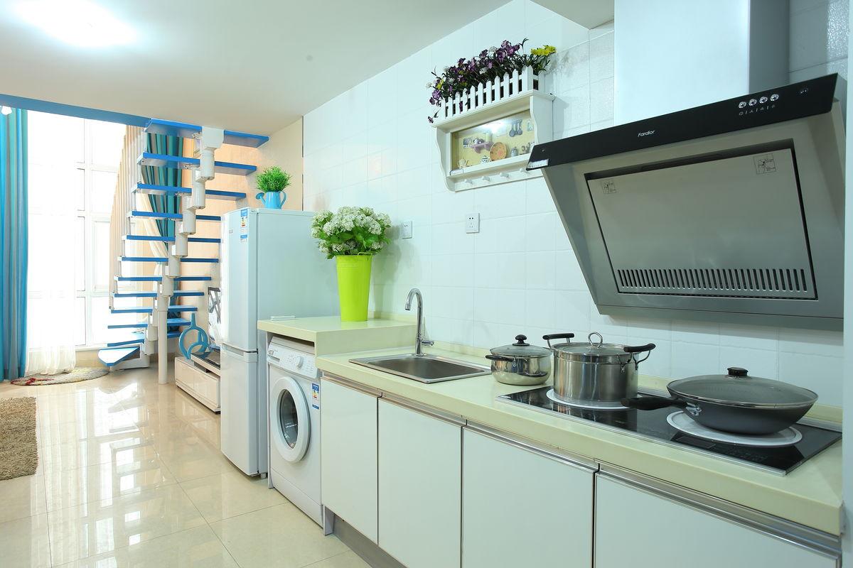 开放式厨房,厨房,厨房装修,家装,家装厨房图片