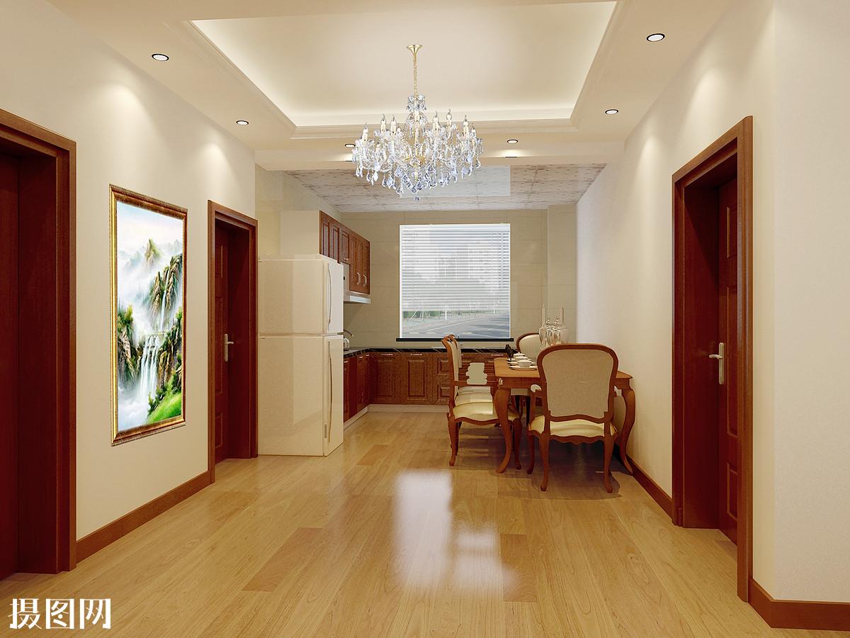 新中式,室内效果图,3d效果图,家装,装修,客厅,桌子,室内,餐厅效果图图片