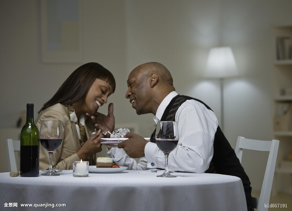 非洲,伴侣,吃饭,甜点图片