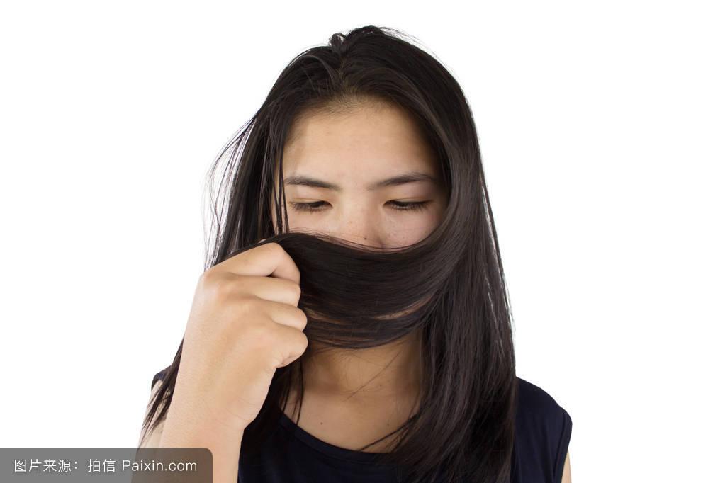 青少年,健康,头发护理,卫生保健,照顾,女士,女孩,表达,女人的头发图片图片