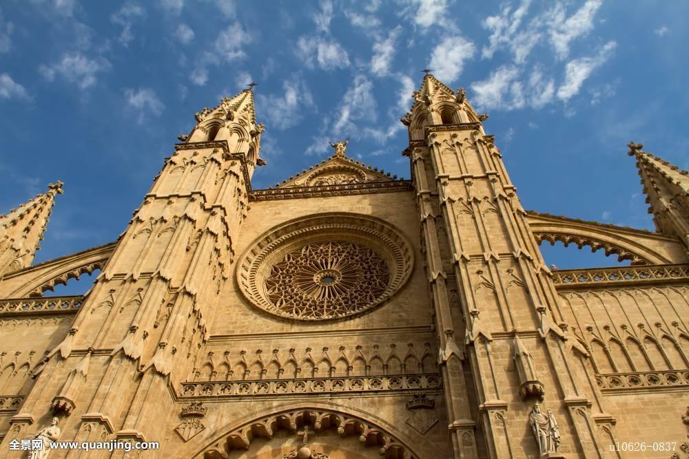 老式,古老,大教堂,天主教,欧洲,历史,文化,基督教,教堂,巴洛克,中世纪图片