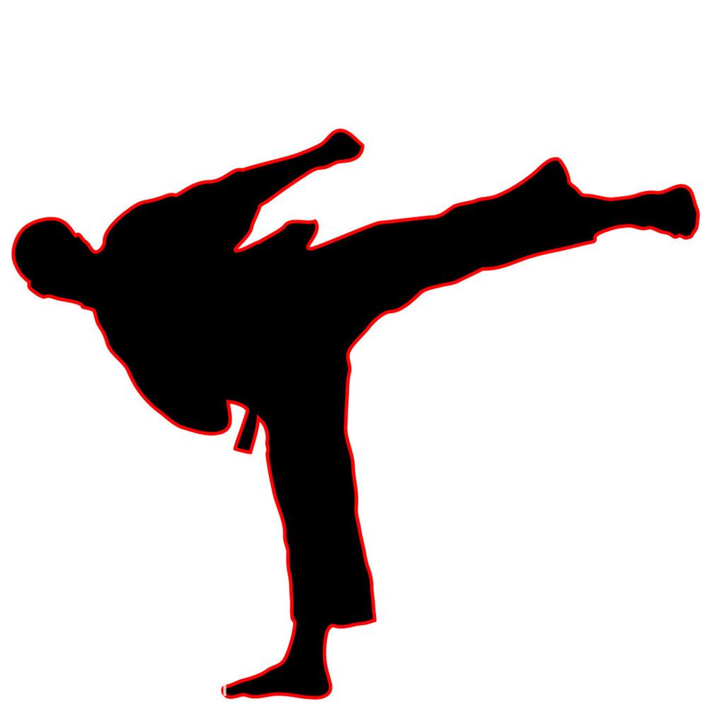 武术-空手道高踢腿_表情大全图片