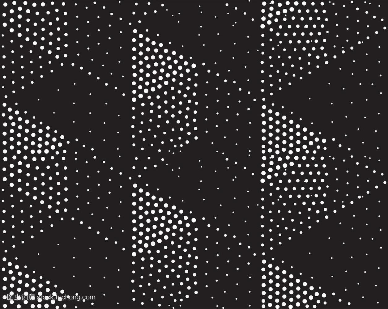 三角形,抽象,复古的,装饰的,壁纸,式样,圆点,创意,面料,无缝,几何图案图片