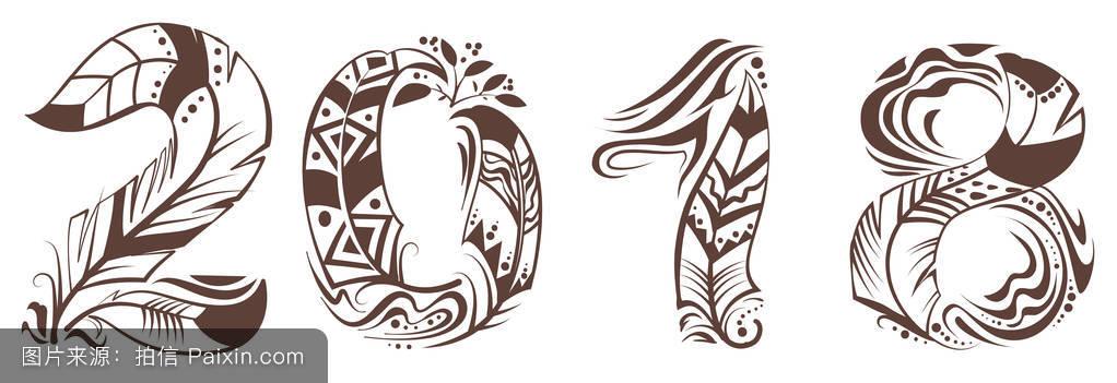 2018年鸟羽符号图片
