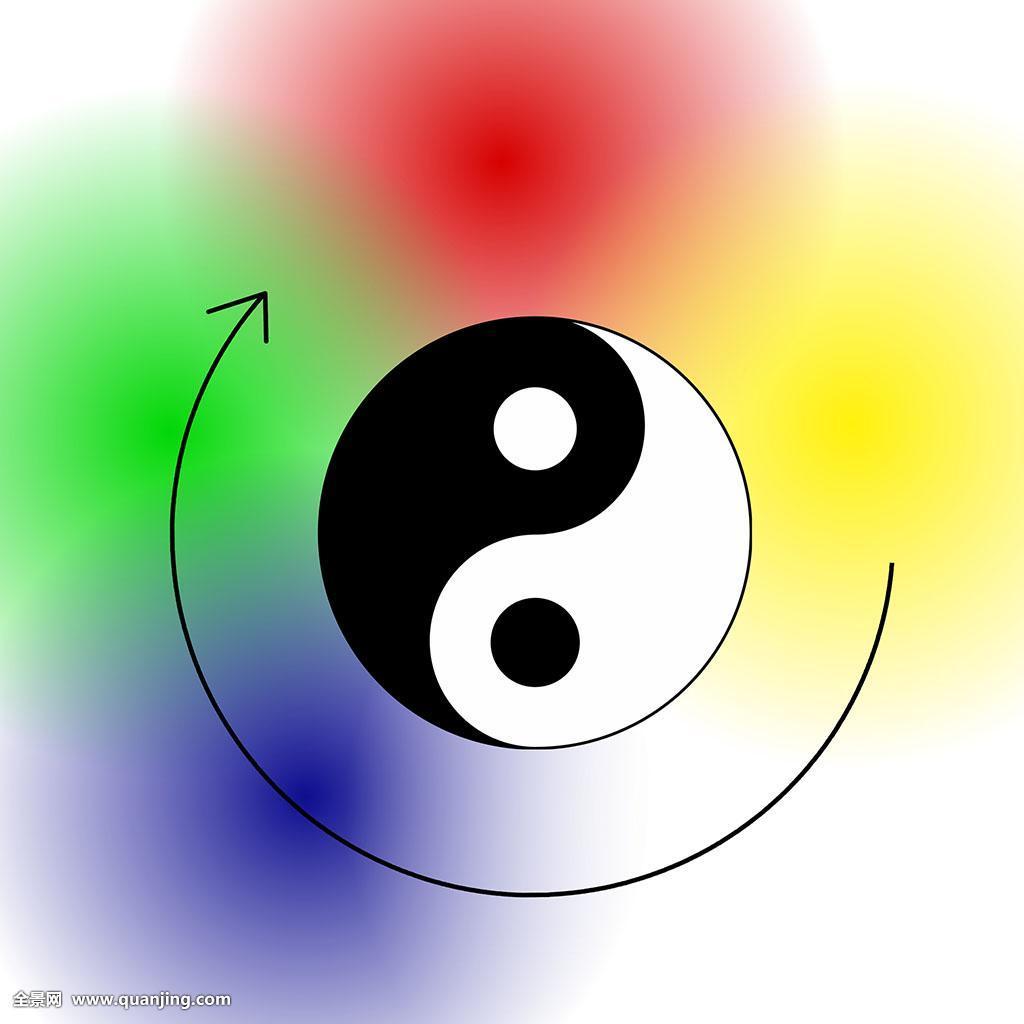 隔绝象征木头五个横图插画金属大火中国哲学体系针灸教育