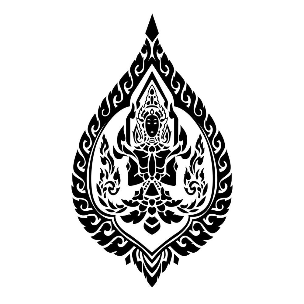 佛教��.d9�c9��i)�aj_背景,标志,抽象,传统,垂直构图,佛,佛教,黑色,火,轮廓,矢量图,泰国