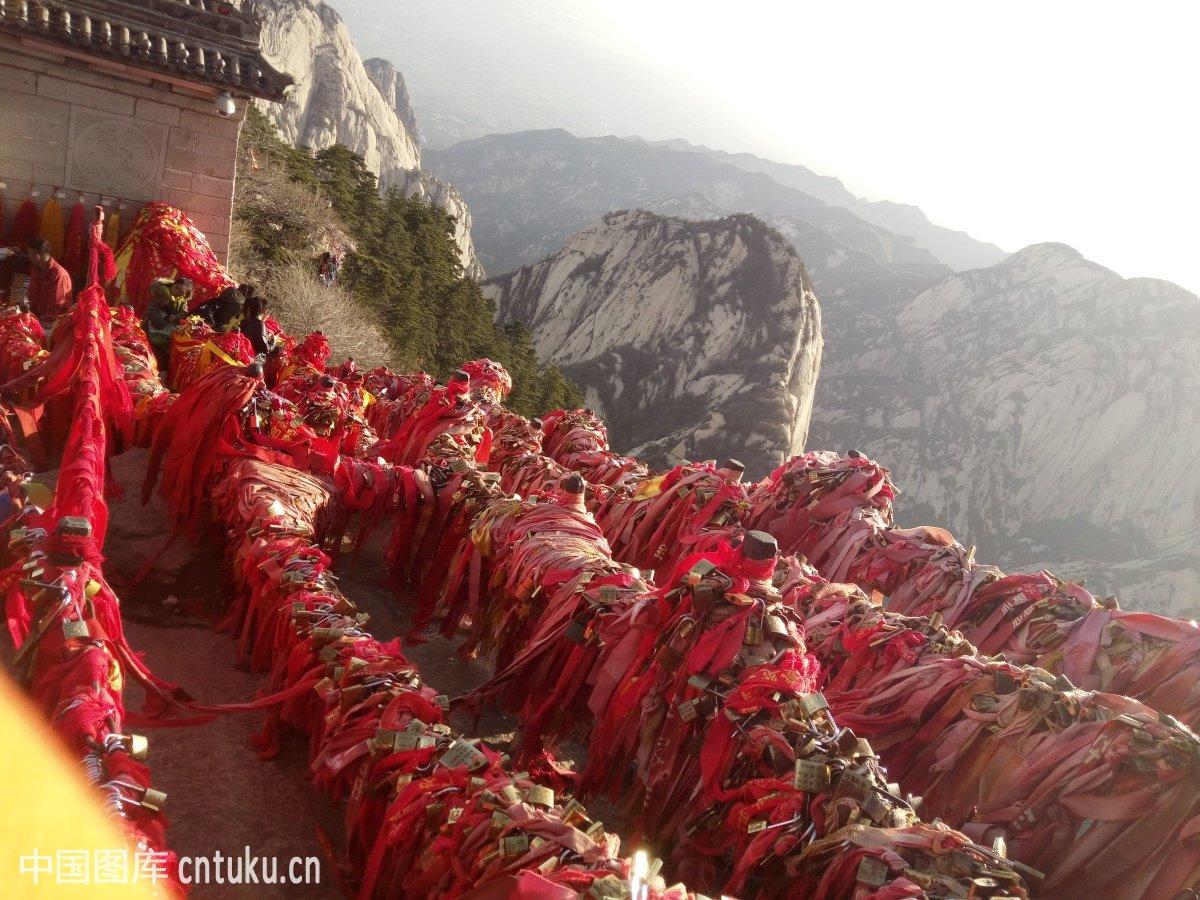 中国,华山,山,自然,风景图片