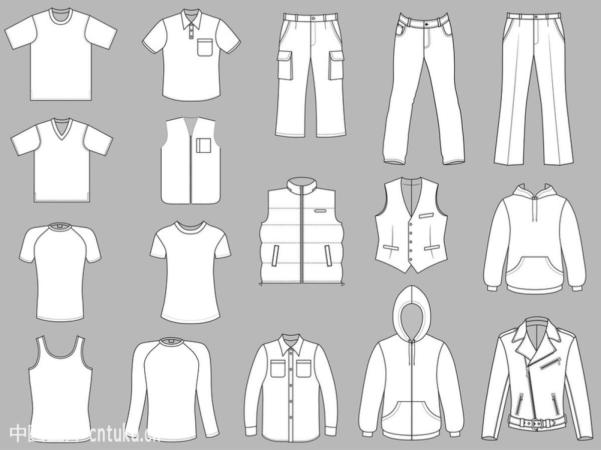 外衣,现代,小混混,新的,休闲活动,袖子,羊毛,衣服,衣领,运动,样式图片