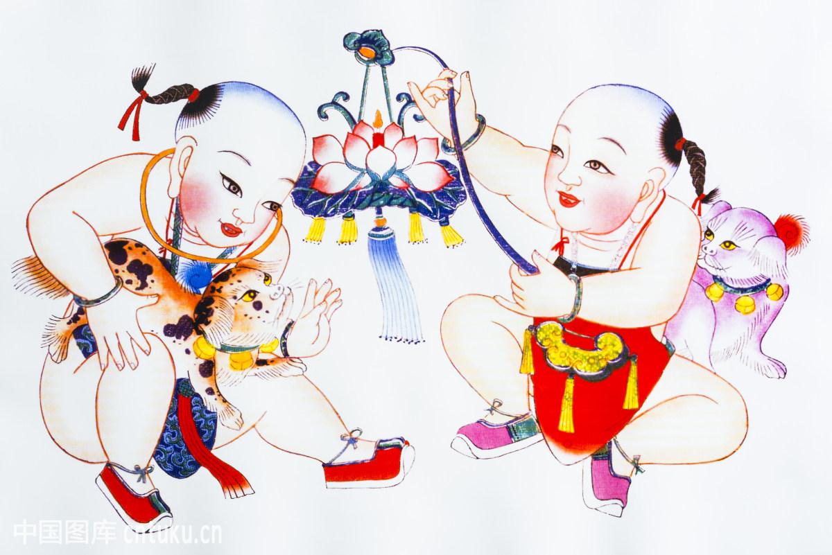 新年儿童创意绘画图片