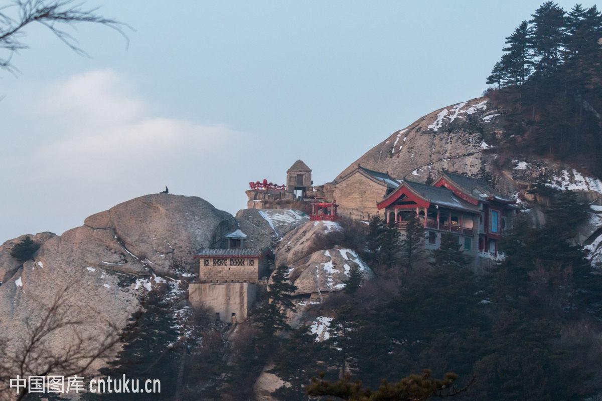 西岳华山风光图片