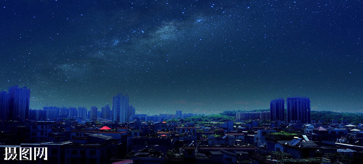 满天繁星的夜空动图满天繁星图片满天星星的夜空
