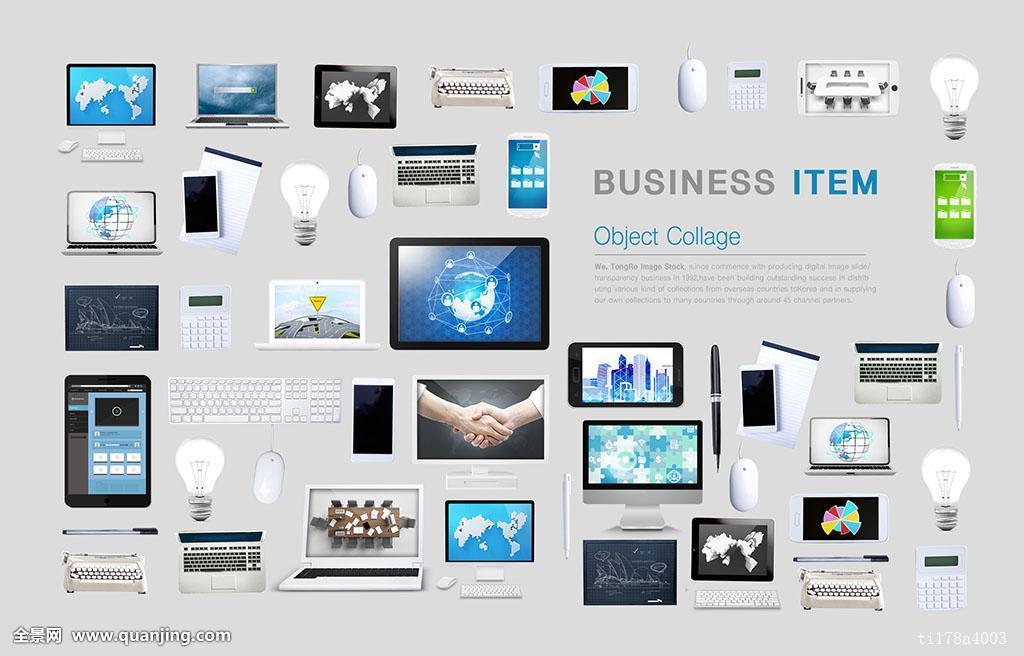 笔记本电脑,电脑,打字机,鼠标,计算器,会面,应用,无线通讯,智能手机