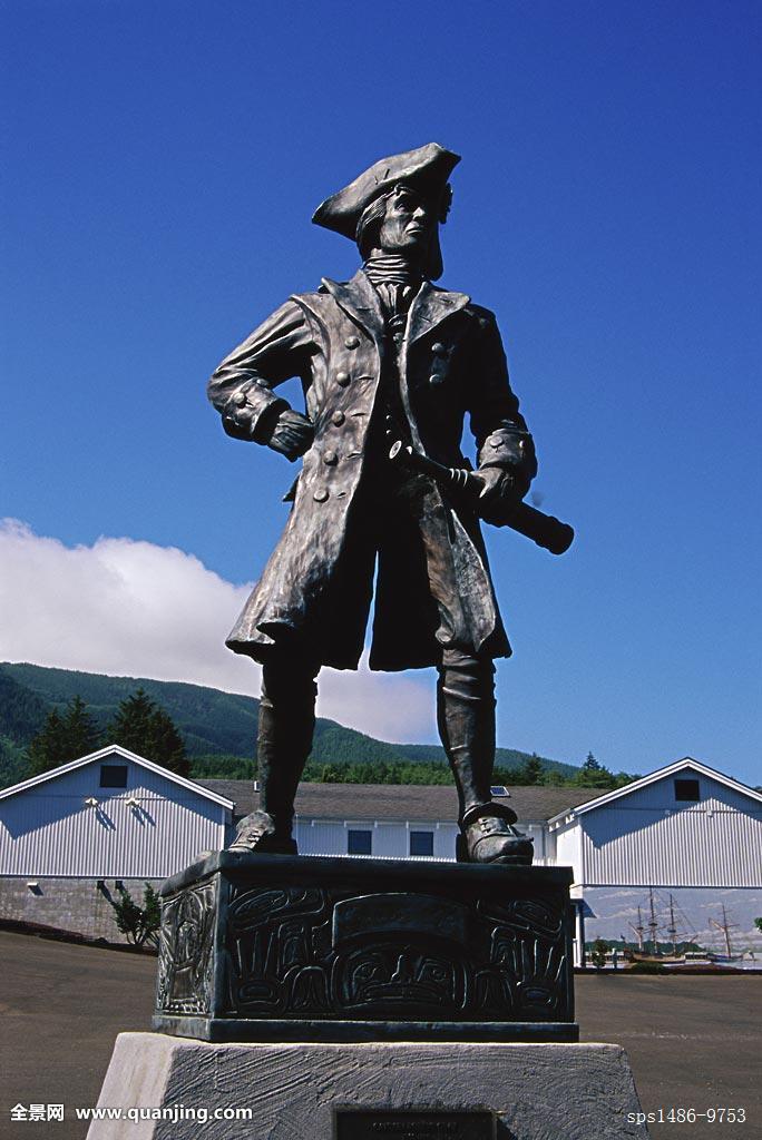 灰色,雕塑,俄勒冈,美国