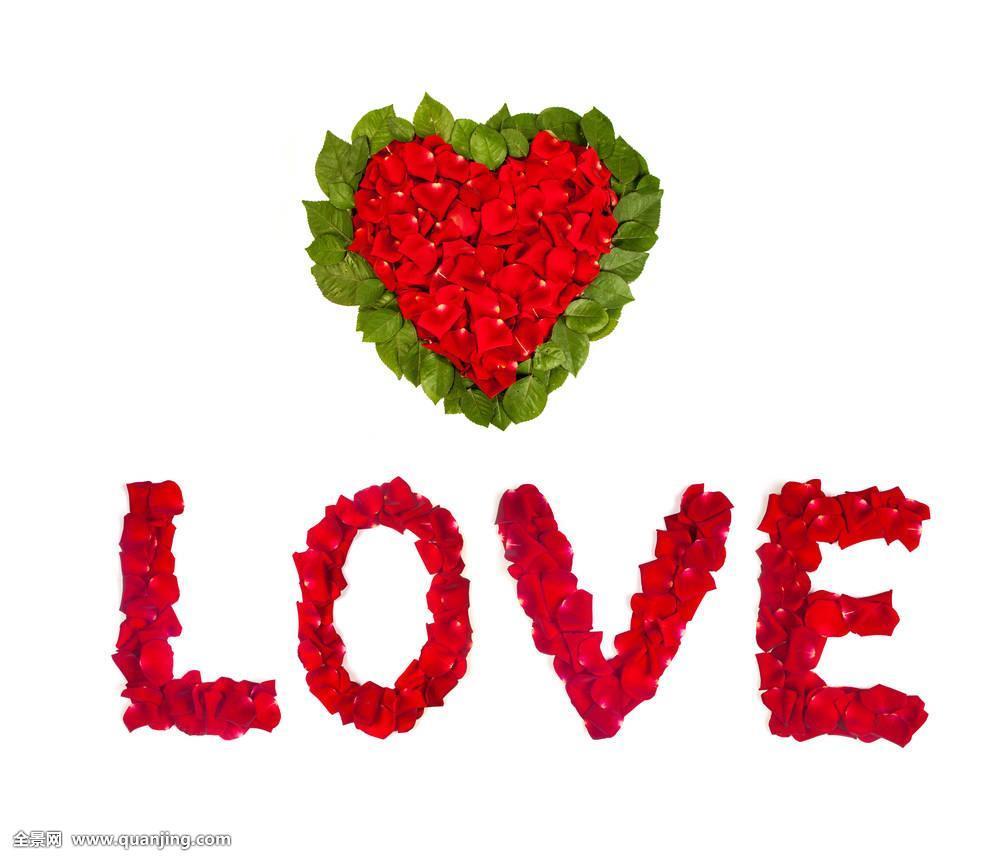 玫瑰,花瓣,爱情,文字,花,心形,情人节,假日,卡,信息,特写,问候,装饰图片