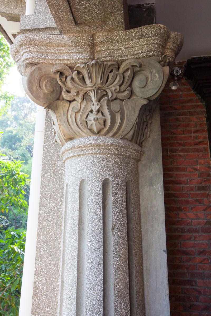 罗马柱,建筑,立柱,柱身,柱头,柱帽,科林斯柱式,古典建筑,郑成功纪念图片