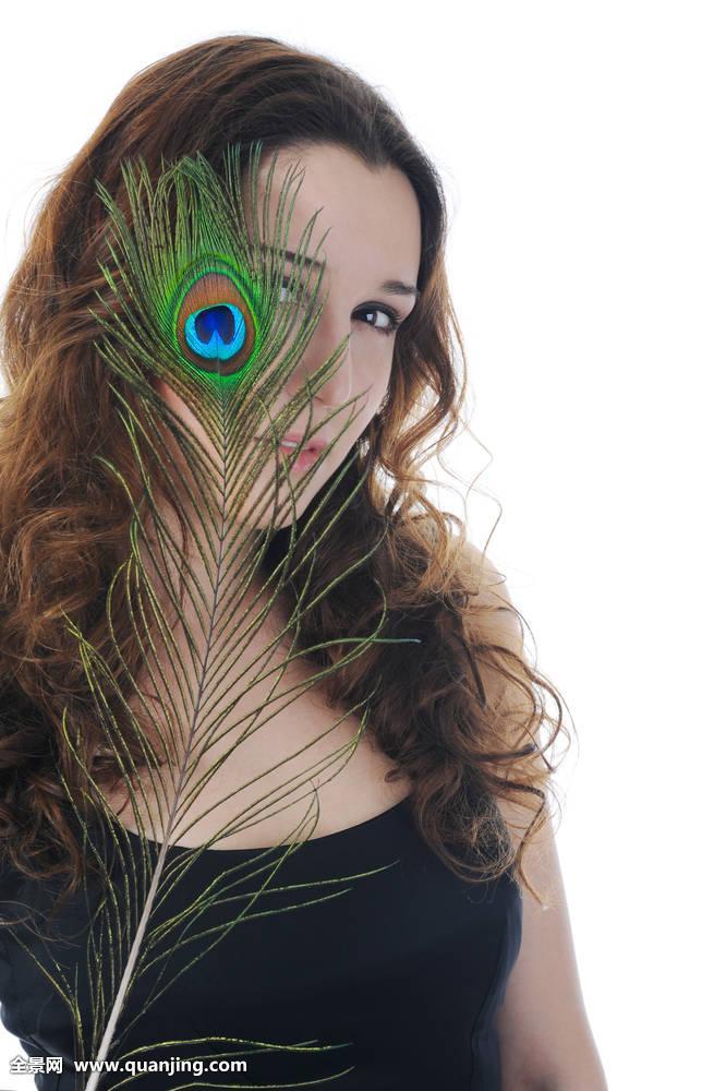 脸,女性,清新,女孩,头发,护发,高兴,健康,女士,生活方式,自然,人,孔雀图片