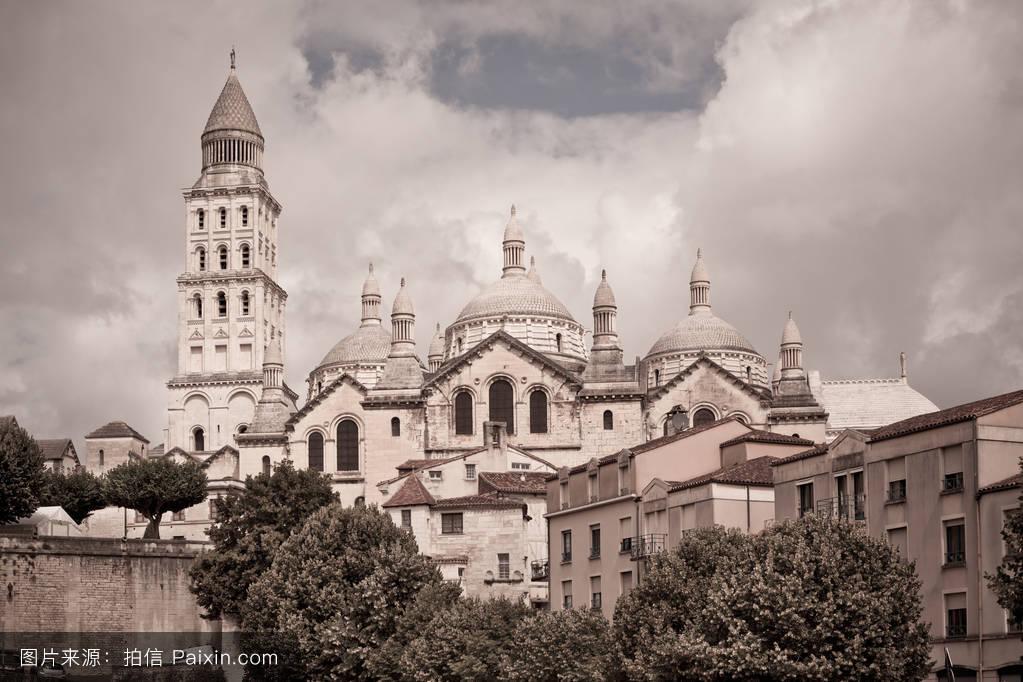 天空,中世纪,假期,世界,圆顶,欧洲的,教堂,宗教,大教堂,朝圣,在户外图片