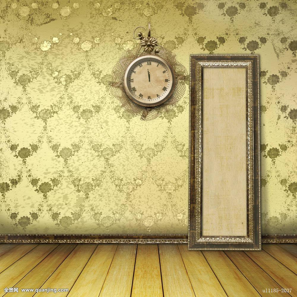 老式,表盘,蕾丝,墙壁,室内图片