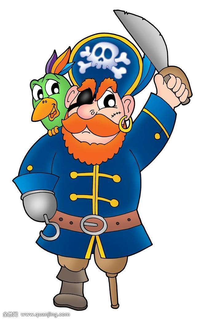 海盗和鹦鹉_海盗,鹦鹉
