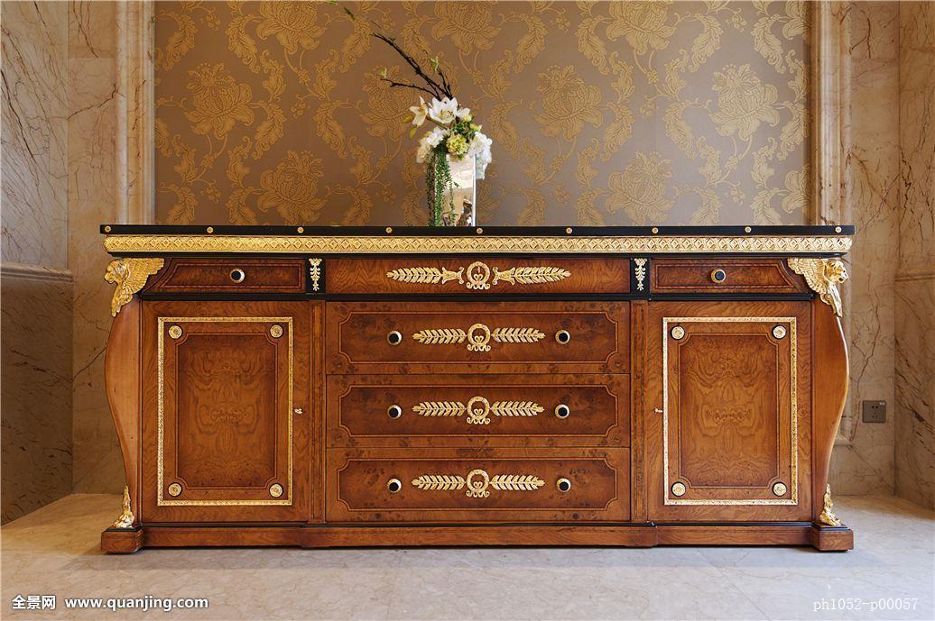 仰视,室内,怀旧,酒店,家具,柜子,欧式家具,西式家具,奢侈,尊贵,古典图片