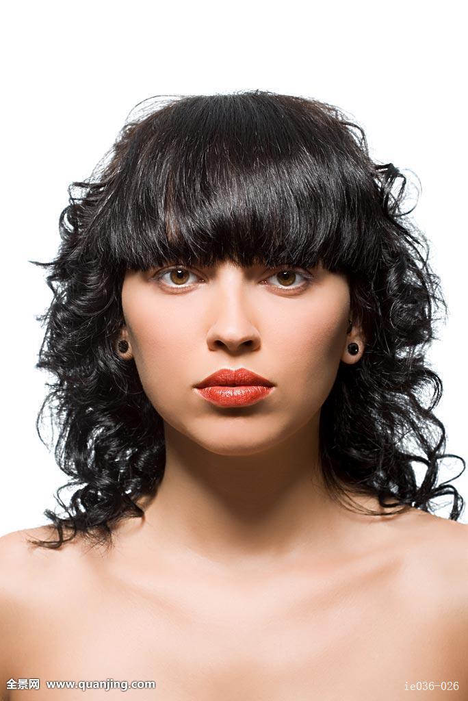 2017烫发发型 黑发分享展示图片