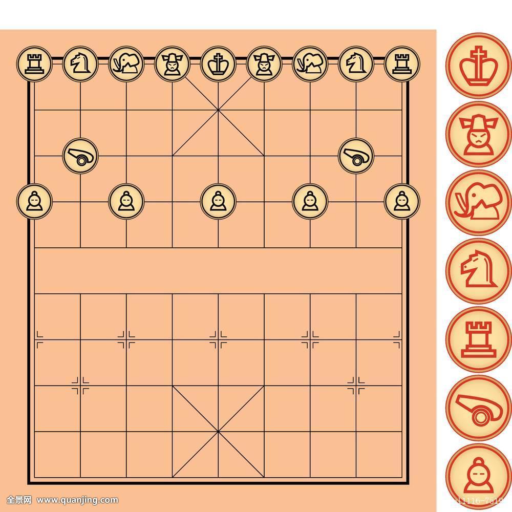 中国象棋 矢量分享展示图片