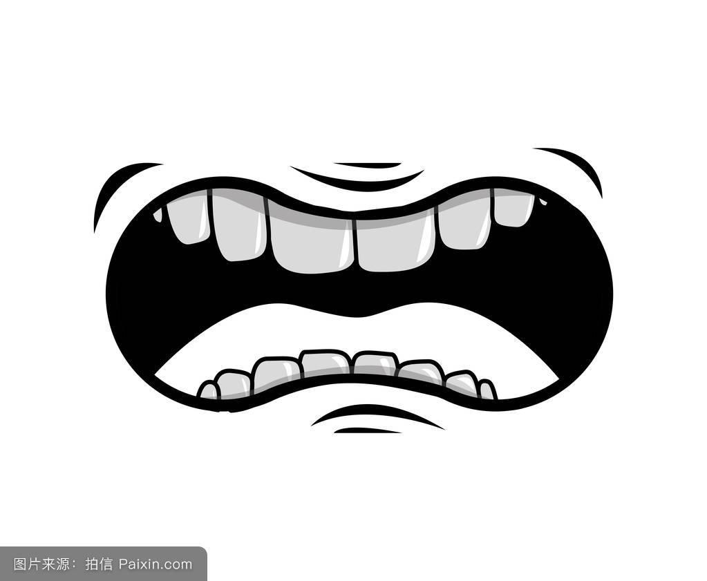 嘴巴的卡通图标图片