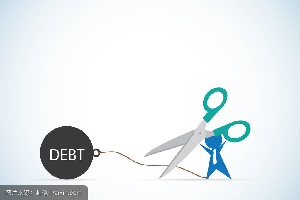 情感债(_卡通,炸弹,问题,持有,情感的,经济,付款,平的,坠落,恢复,金融的,概念