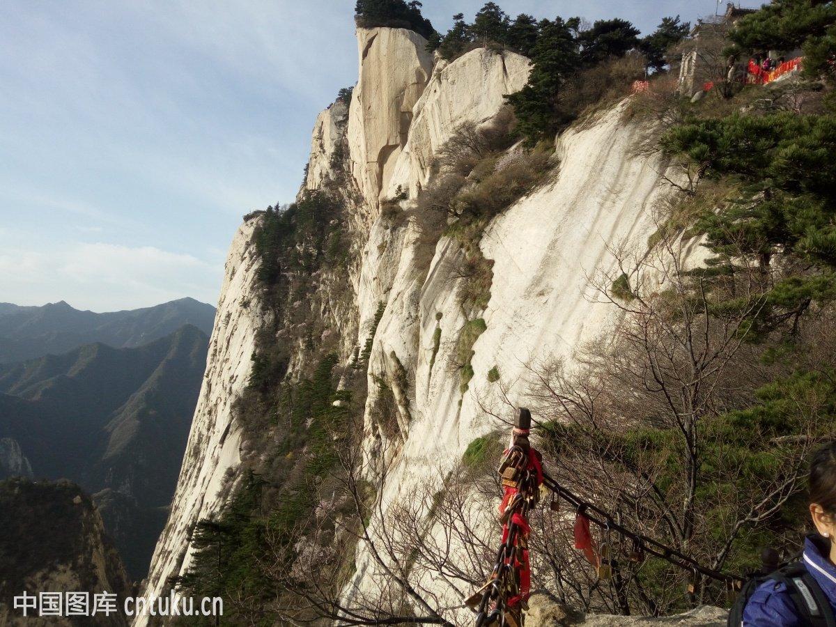 中国,华山,山,自然图片